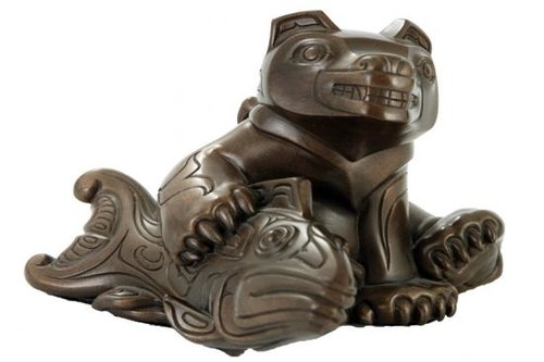 Samson Native Gallery small_bear_sitting