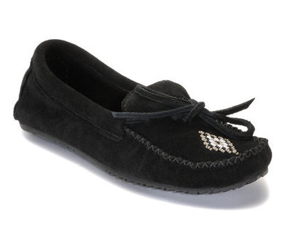 Canoe_Moccasin_Suede_Black